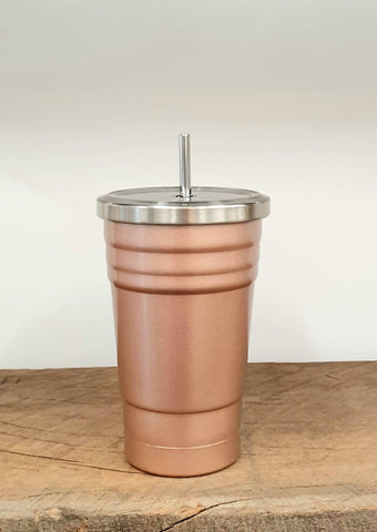 Bare & Co. Insulated Drink Tumbler - Champagne Pink (500ml)