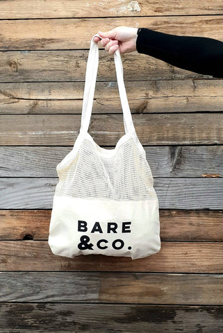 Bare & Co. - Net Canvas Shopper Tote
