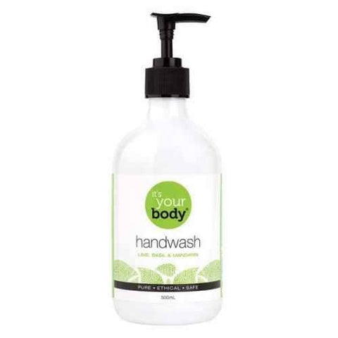 Abode - It's Your Body Hand Wash - Lime, Basil and Mandarin (500ml)