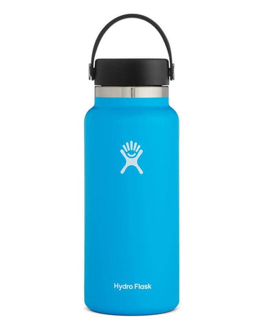 Hydro Flask - Double Insulated Wide Mouth Bottle with Flex Cap - Pacific (946ml)