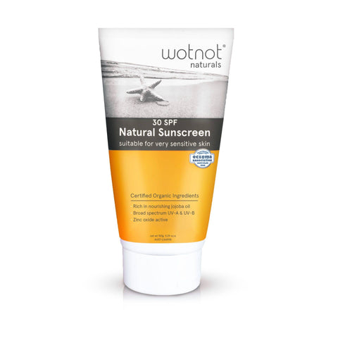Wot Not - SPF 30+ Natural Sunscreen 150g