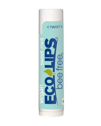 Eco Lips - Bee Free® Vegan Lip Balm - Sweet Mint (4.25g)