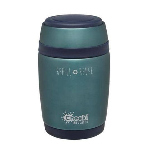 Cheeki - Insulated Food Jar - Topaz (480ml)
