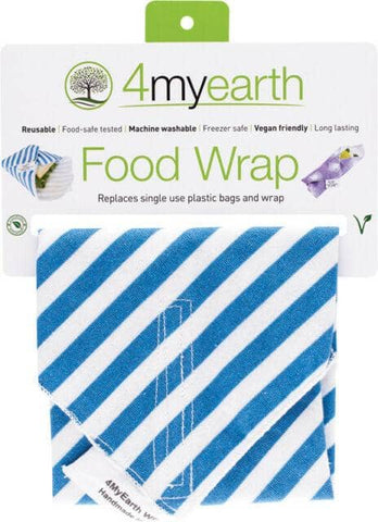 4myearth - Food Wraps - Denim Stripes