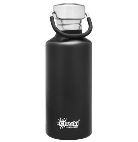 Cheeki - Classic Single Wall Bottle - Matte Black 500ml