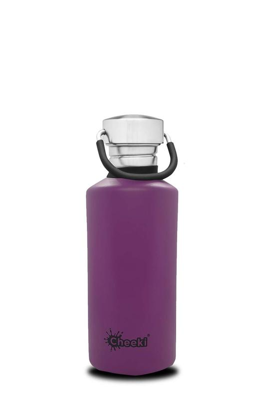Cheeki - Classic Single Wall Bottle - Purple (500ml)