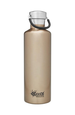 Cheeki - Classic Insulated Bottle - Champagne (600ml)