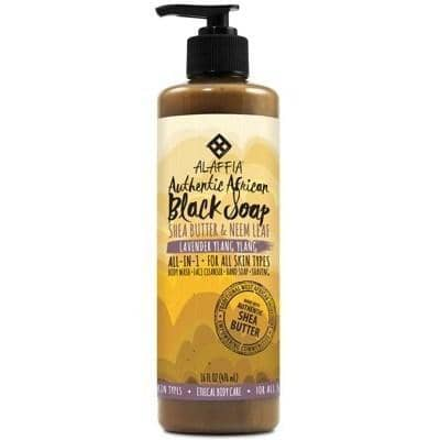 Alaffia - African Black Soap All-in-One - Lavender Ylang Ylang (476ml)