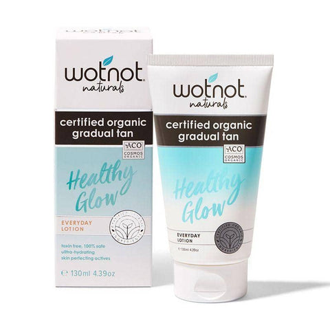 Wotnot - Certified Organic Gradual Tan Everyday Lotion (130ml)