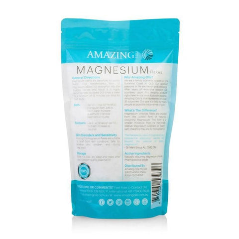 Amazing Oils - Magnesium Bath Flakes 800g