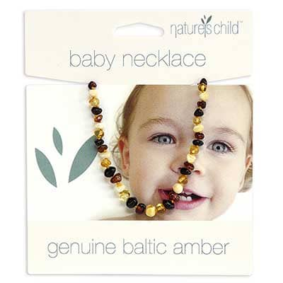 Natures Child - Amber Baby Necklace - Mixed Amber