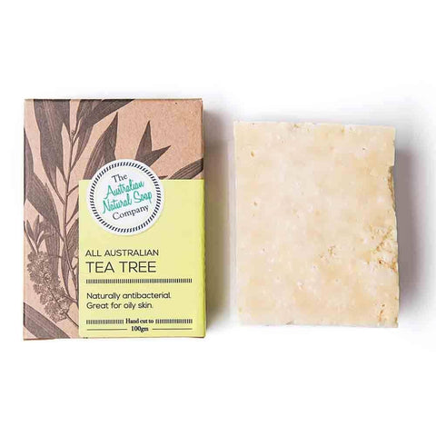 The Australian Natural Soap Company - All Australian Tea Tree Solid Soap (100g)