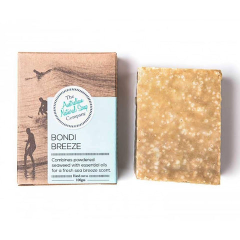 The Australian Natural Soap Company - Bondi Breeze Solid Soap (100g)