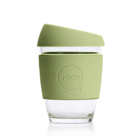 JOCO - Reusable Glass Cup - Army (Regular 12oz)