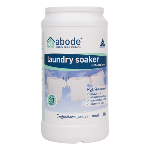 Abode - Laundry Soaker - High Performance (1kg)