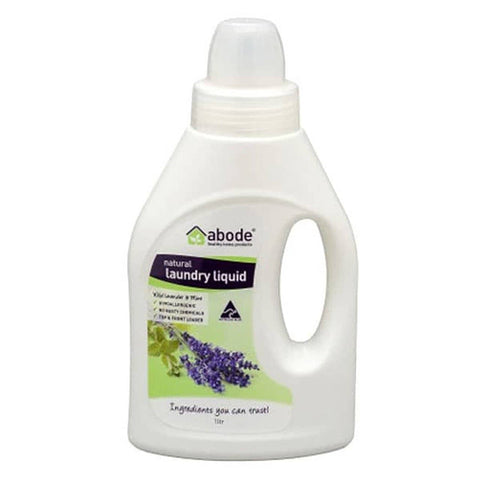 Abode - Laundry Liquid - Lavender and Mint (1L)