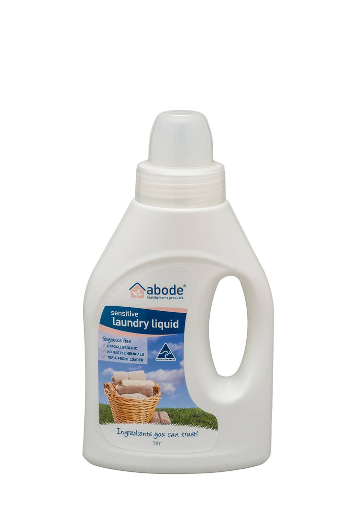 Abode - Laundry Liquid - ZERO Fragrance Free (1L)