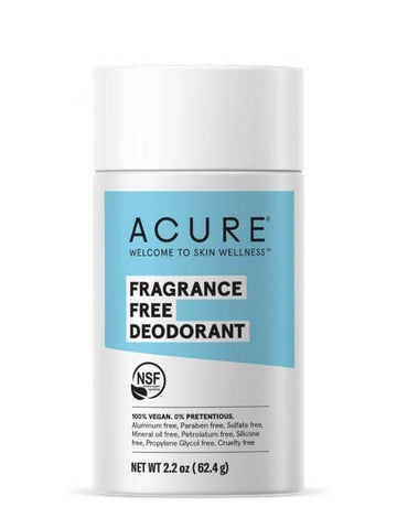 Acure - Deodorant Stick - Fragrance Free (63g)
