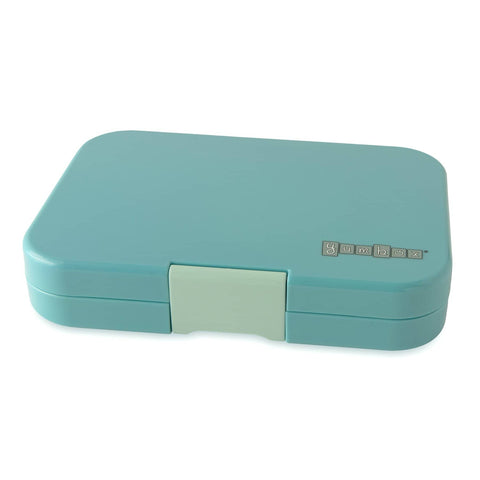 Yumbox - Leakproof Bento Box For Kids and Adults - Tapas with Explore Tray (Light Blue)