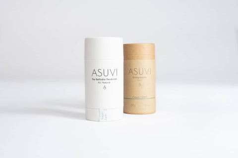 Asuvi Deodorant Stick - Aqua + Earth 65g