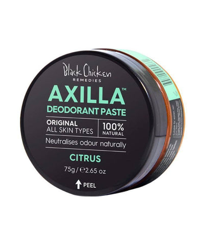 Black Chicken - Axilla Natural Deodorant Paste - Original Citrus (75g)