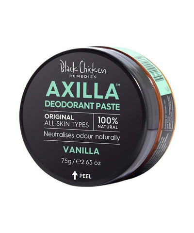 Black Chicken - Axilla Natural Deodorant Paste - Original Vanilla (75g)