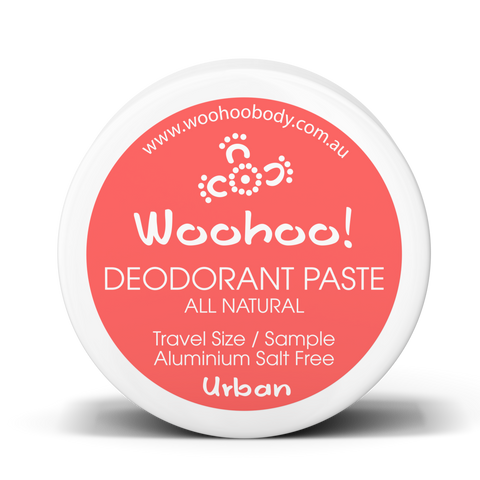 Woohoo Body - Deodorant Paste - Urban (Trial Size 10g)