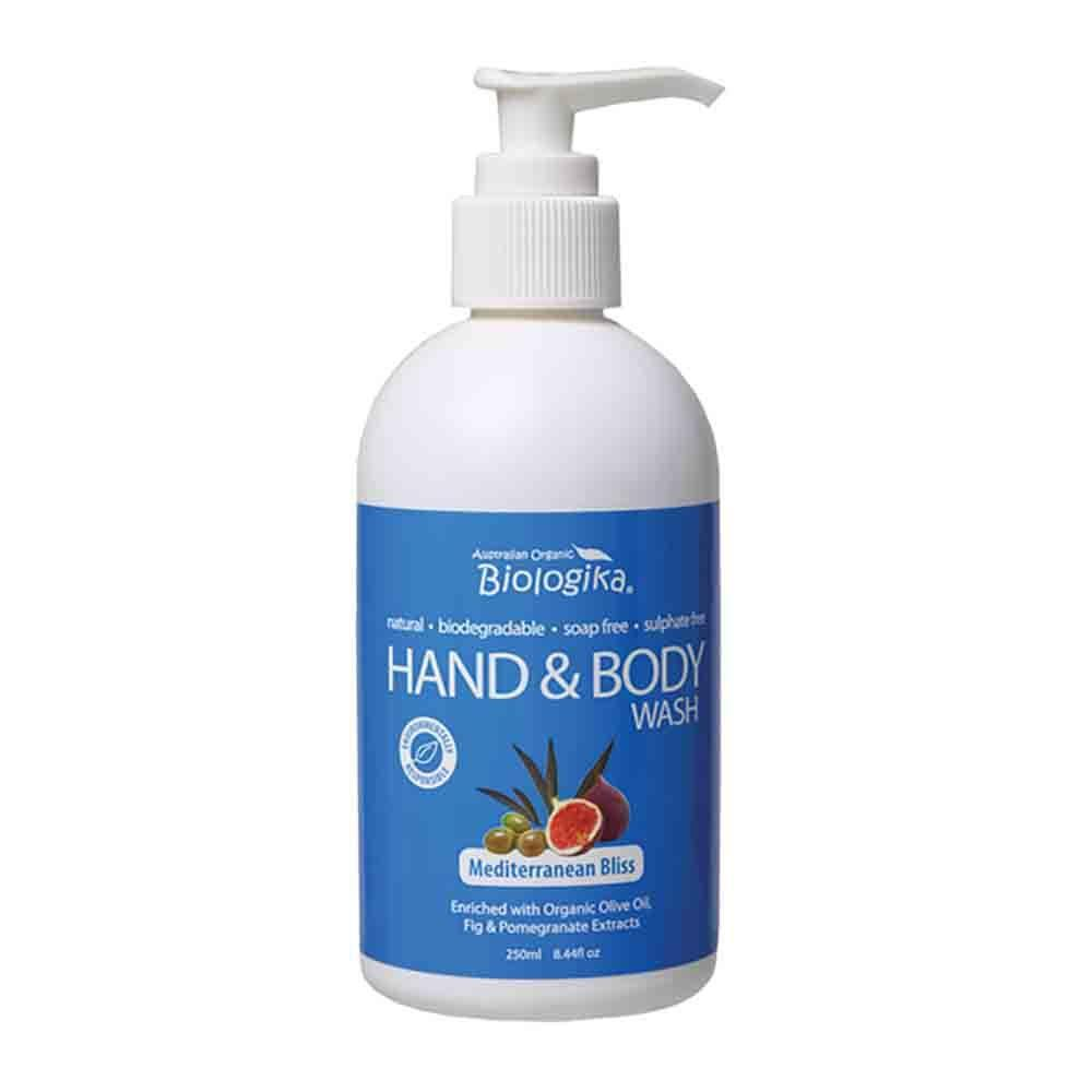 Biologika - Hand and Body Wash - Mediterranean Bliss (250ml)