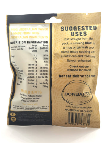 Boneafide Broth Co. - Chicken Broth Crisps (5g)