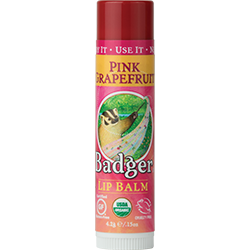 Badger - Classic Lip Balm -  Pink Grapefruit (4.2g)