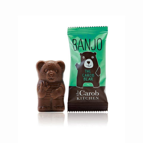The Carob Kitchen - Banjo The Carob Bear - Mint (15g)