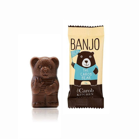 The Carob Kitchen - Banjo The Carob Bear - Vegan (15g)