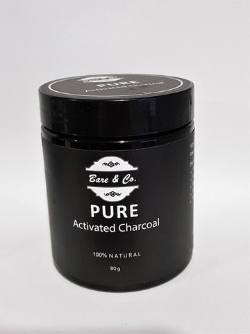 Bare & Co. - Pure Activated Charcoal Powder (80g)
