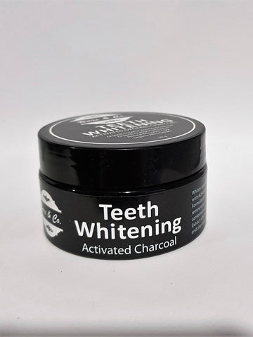 Bare & Co. - Activated Charcoal Teeth Whitening Powder (30g)