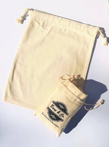 Bare & Co. - Reusable Produce Bags - Solid (6 pack)