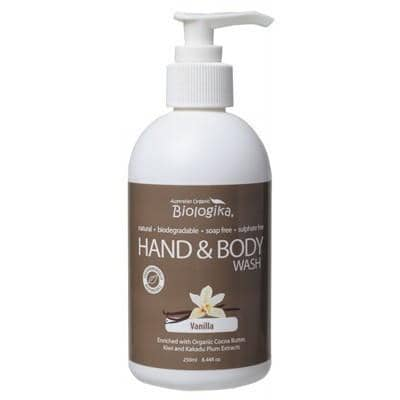 Biologika - Hand & Body Wash - Vanilla (250ml)