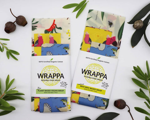 WRAPPA - Plant-Based Wraps - Birds and Bees (3 Pack)