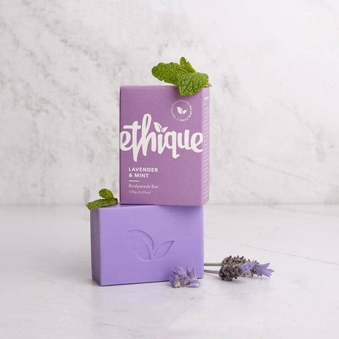 Ethique - Solid Bodywash Bar - Lavender and Peppermint (120g)