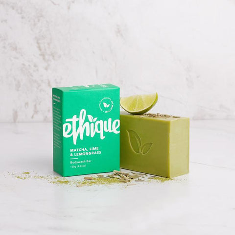 Ethique - Solid Bodywash Bar - Matcha, Lime and Lemongrass (120g)