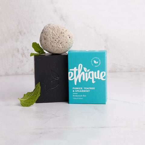 Ethique - Solid Bodywash Bar - Pumice, Tea Tree and Spearmint (120g)