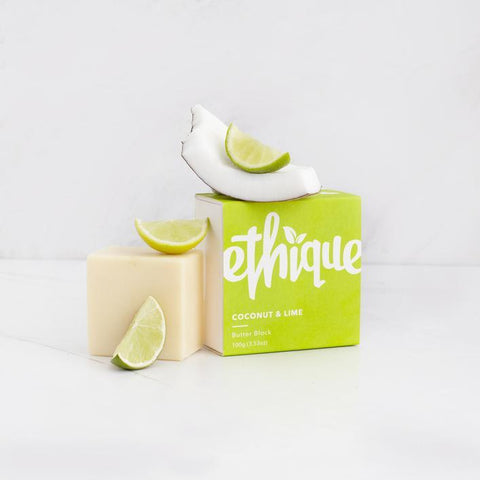 Ethique - Body Butter Block - Coconut and Lime (100g)