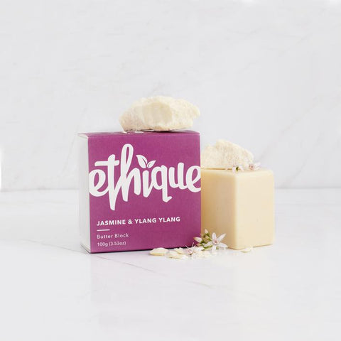 Ethique - Body Butter Block - Jasmine and Ylang Ylang (100g)