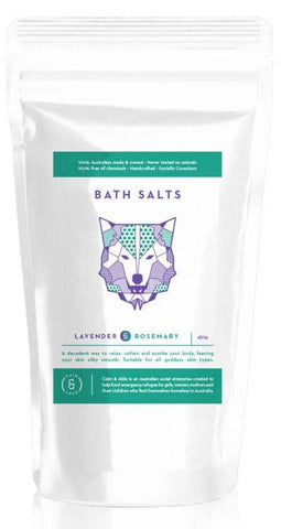 Caim & Able - Magnesium Bath Salts - Protect Rosemary and Lavender 450g