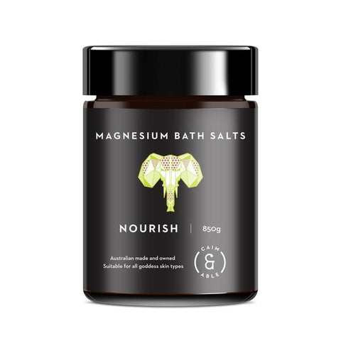 Caim & Able - Magnesium Bath Salts - Nourish Coconut and Lime 850g