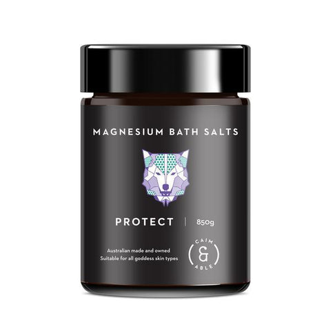 Caim & Able - Magnesium Bath Salts - Protect Lavender and Rosemary 850g