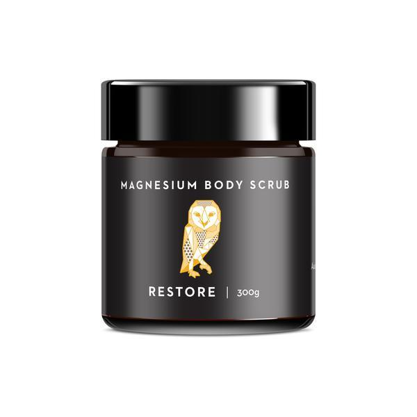Caim & Able - Magnesium Body Scrub - Restore Coffee and Clementine 300g
