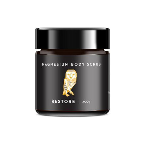 Caim & Able - Restore Magnesium Body Scrub with Coffee and Clementine 300g