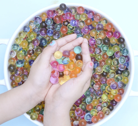 No Nasties - Biodegradable Sensory Water Beads (10g/Approx 500 beads)