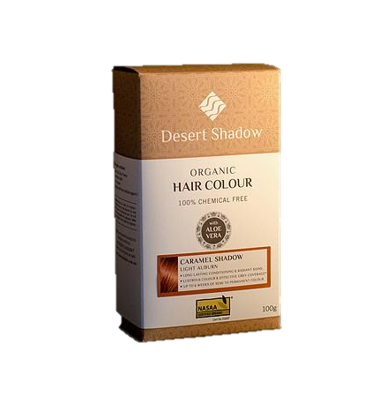 Desert Shadow Organic Hair Colour - Caramel Shadow