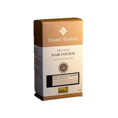 Desert Shadow Organic Hair Colour - Deep Chestnut Shadow